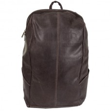 """Distressed Leather 17"""" Laptop Backpack"""